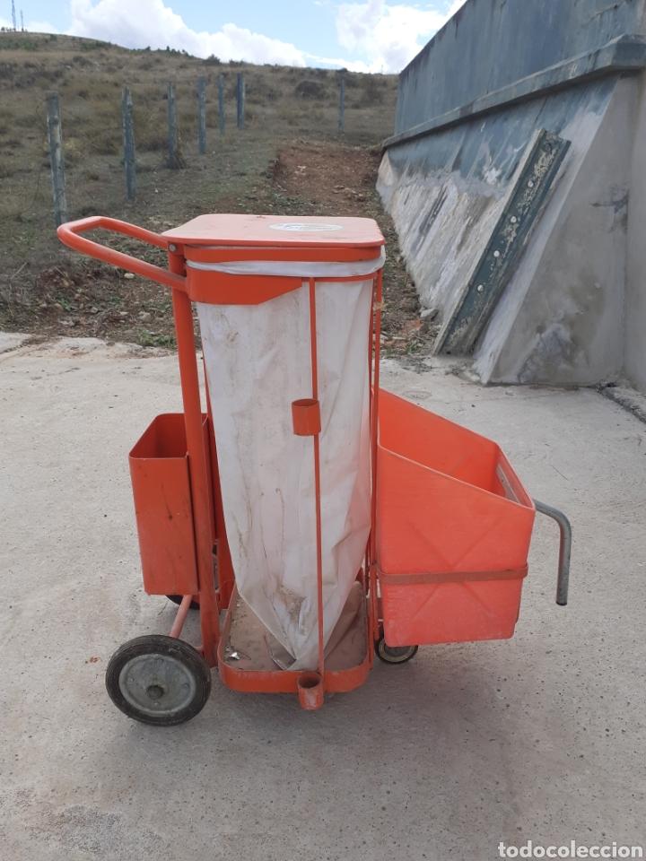 Antigüedades: Antiguo carro de barrendero - Foto 2 - 287959363