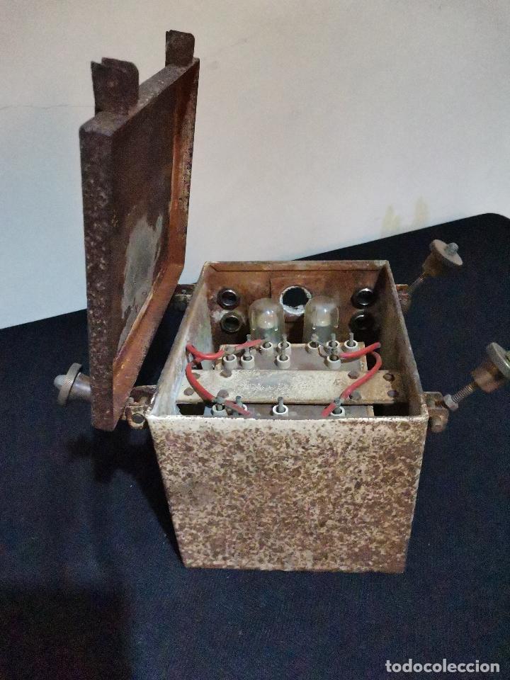 Antigüedades: ANTIGUA CAJA DE REGISTRO PARA POSTE - Foto 7 - 287961158