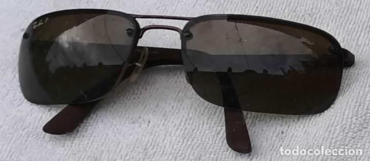 GAFAS RAY/BAN, MADE IN ITALY, POLARIZED P3 LENS, RB8310 POLARIZED 014/T5 (Antigüedades - Técnicas - Instrumentos Ópticos - Gafas Antiguas)