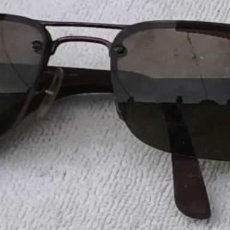 Antigüedades: GAFAS RAY/BAN, MADE IN ITALY, POLARIZED P3 LENS, RB8310 POLARIZED 014/T5. Lote 287970578