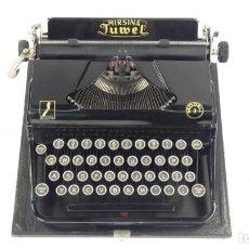 Antigüedades: MAQUINA DE ESCRIBIR MIRSINA JUWEL MODEL 3 1938 TYPEWRITER SCHREIBMASCHINE ECRIRE. Lote 288004823