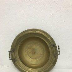 Antigüedades: ANTIGUO Y GRANDE BRASERO DE BRONCE!. Lote 288033788