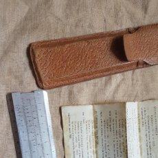 Antigüedades: REGLA DE CALCULO SALIP CON INSTRUCCIONES. Lote 288034943