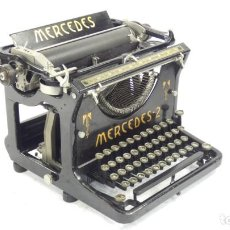 Antigüedades: MAQUINA DE ESCRIBIR MERCEDES Nº2 AÑO 1909 TYPEWRITER SCHREIBMASCHINE A ECRIRE. Lote 288036978
