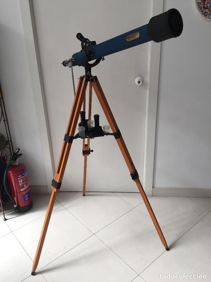 ¡SOLO RECOGIDA LOCAL EN MADRID CAPITAL! AÑO 1999 TELESCOPIO TASCO - ¡A ESTRENAR, NUNCA USADO! (Antigüedades - Técnicas - Otros Instrumentos Ópticos Antiguos)