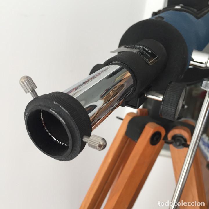 Antigüedades: ¡SOLO RECOGIDA LOCAL EN MADRID CAPITAL! Año 1999 Telescopio Tasco - ¡A estrenar, nunca usado! - Foto 2 - 288050633