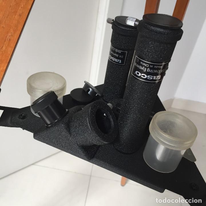 Antigüedades: ¡SOLO RECOGIDA LOCAL EN MADRID CAPITAL! Año 1999 Telescopio Tasco - ¡A estrenar, nunca usado! - Foto 6 - 288050633
