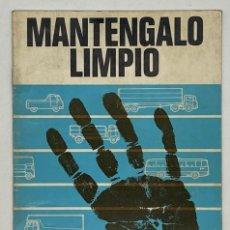 Antigüedades: LIBRO MANTENGALO LIMPIO CAV LIMITED DIAGNOSTICO DE FALLAS. Lote 288068658