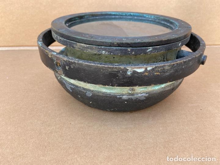 Antigüedades: Antiguo y original compás náutico de bitácora. Madrid Hamburgo, PLATH GEOMAR - Foto 7 - 288331288