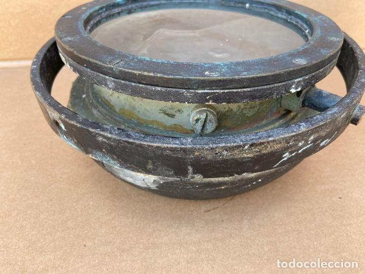 Antigüedades: Antiguo y original compás náutico de bitácora. Madrid Hamburgo, PLATH GEOMAR - Foto 9 - 288331288
