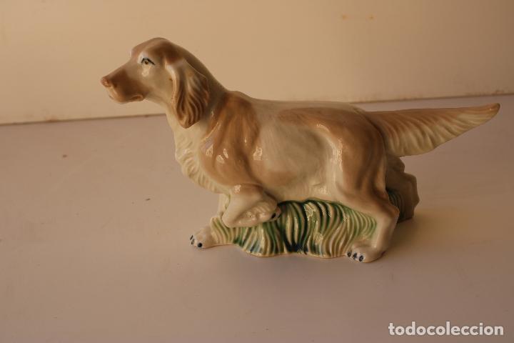 Antigüedades: perro cocker de deramica - Foto 4 - 288434328