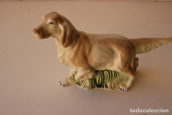 Antigüedades: perro cocker de deramica - Foto 7 - 288434328