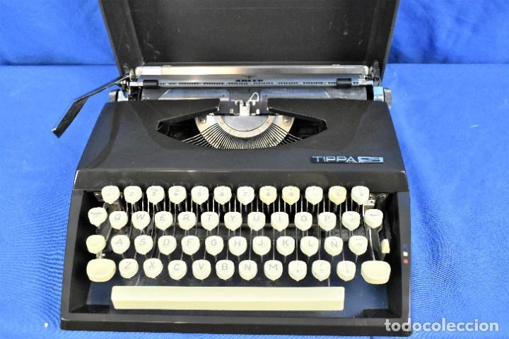 Antigüedades: Maquina de escribir Adler Tippa S años 60 - Foto 2 - 288474613
