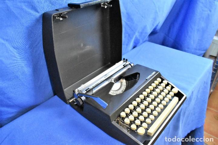 Antigüedades: Maquina de escribir Adler Tippa S años 60 - Foto 5 - 288474613