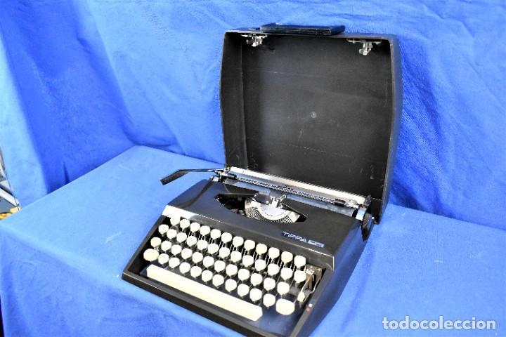 Antigüedades: Maquina de escribir Adler Tippa S años 60 - Foto 6 - 288474613