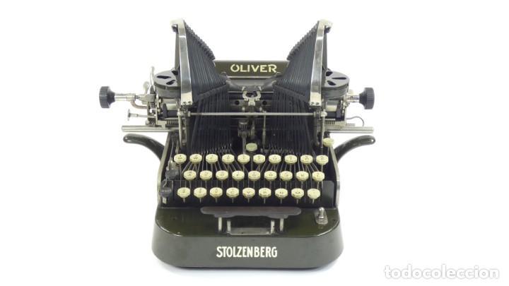 MÁQUINA DE ESCRIBIR OLIVER Nº3 AÑO 1898 TYPEWRITER SCHREIBMASCHINE A ECRIRE (Antigüedades - Técnicas - Máquinas de Escribir Antiguas - Otras)