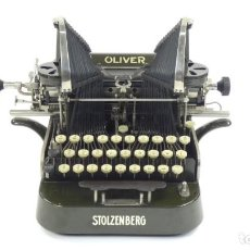 Antigüedades: MÁQUINA DE ESCRIBIR OLIVER Nº3 AÑO 1898 TYPEWRITER SCHREIBMASCHINE A ECRIRE. Lote 288476258