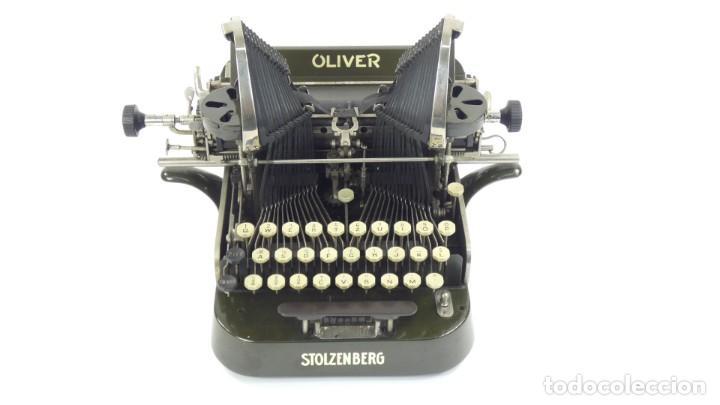 Antigüedades: Máquina de escribir OLIVER Nº3 AÑO 1898 Typewriter Schreibmaschine A Ecrire - Foto 2 - 288476258