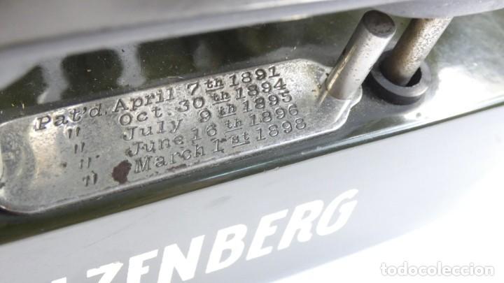 Antigüedades: Máquina de escribir OLIVER Nº3 AÑO 1898 Typewriter Schreibmaschine A Ecrire - Foto 5 - 288476258