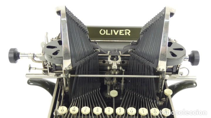 Antigüedades: Máquina de escribir OLIVER Nº3 AÑO 1898 Typewriter Schreibmaschine A Ecrire - Foto 6 - 288476258
