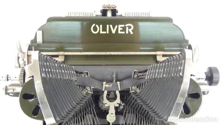 Antigüedades: Máquina de escribir OLIVER Nº3 AÑO 1898 Typewriter Schreibmaschine A Ecrire - Foto 7 - 288476258