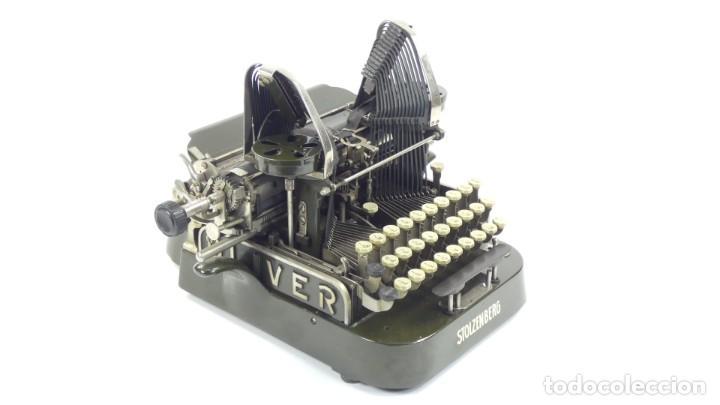 Antigüedades: Máquina de escribir OLIVER Nº3 AÑO 1898 Typewriter Schreibmaschine A Ecrire - Foto 8 - 288476258