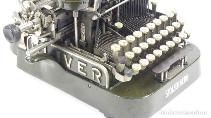 Antigüedades: Máquina de escribir OLIVER Nº3 AÑO 1898 Typewriter Schreibmaschine A Ecrire - Foto 9 - 288476258