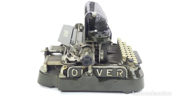 Antigüedades: Máquina de escribir OLIVER Nº3 AÑO 1898 Typewriter Schreibmaschine A Ecrire - Foto 11 - 288476258