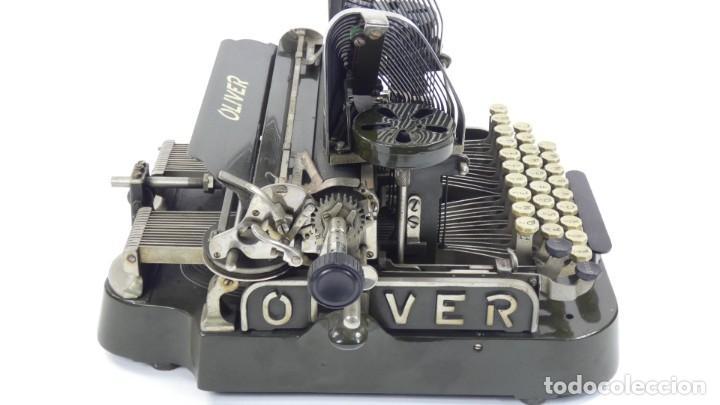 Antigüedades: Máquina de escribir OLIVER Nº3 AÑO 1898 Typewriter Schreibmaschine A Ecrire - Foto 12 - 288476258