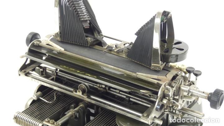 Antigüedades: Máquina de escribir OLIVER Nº3 AÑO 1898 Typewriter Schreibmaschine A Ecrire - Foto 17 - 288476258