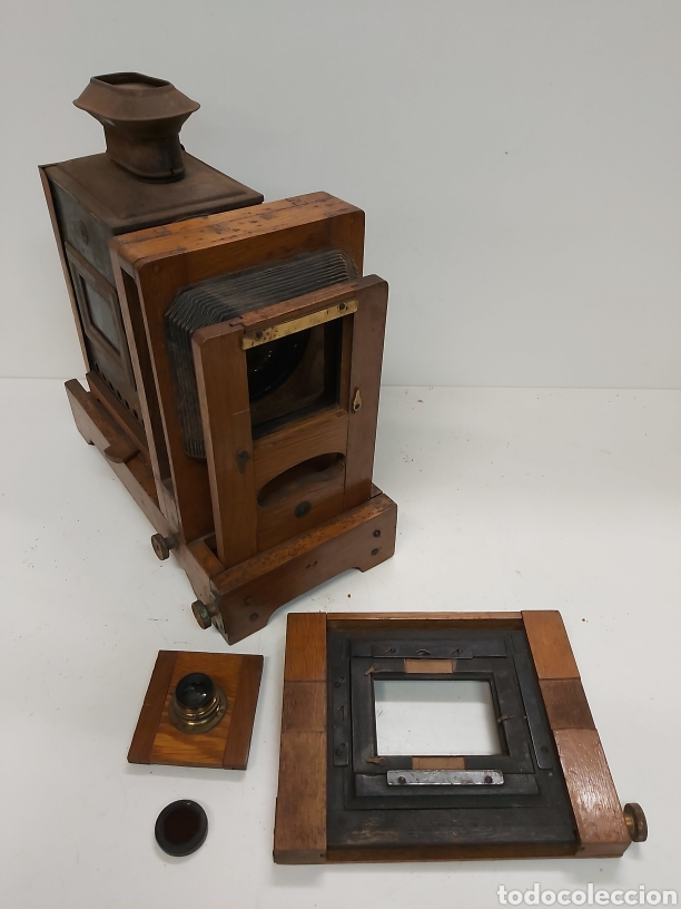 Antigüedades: Literna mágica W.BUTCHER&SONS LTD - Foto 23 - 288512293