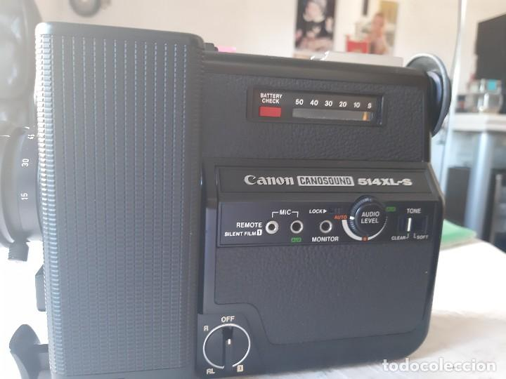 Antigüedades: CAMARA VIDEO (Tomavistas) CANON 514 XL-S Canosound - Foto 2 - 288533683