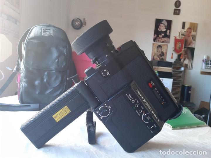 Antigüedades: CAMARA VIDEO (Tomavistas) CANON 514 XL-S Canosound - Foto 7 - 288533683