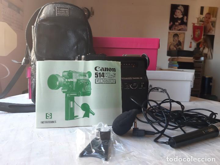 Antigüedades: CAMARA VIDEO (Tomavistas) CANON 514 XL-S Canosound - Foto 11 - 288533683
