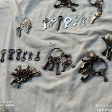 Antigüedades: GRAN LOTE DE LLAVES ANTIGUAS. Lote 288536213