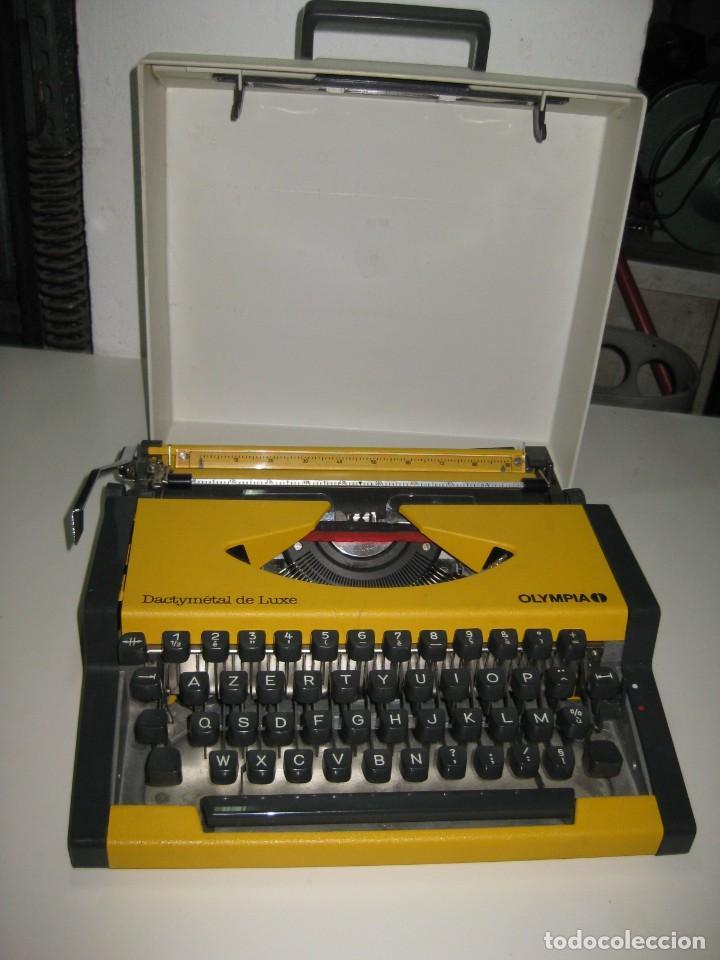 OLYMPIA DACTYMETAL DE LUXE (Antigüedades - Técnicas - Máquinas de Escribir Antiguas - Olympia)