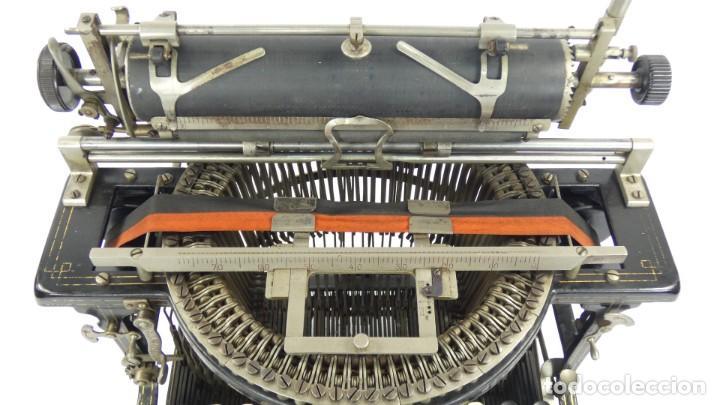 Antigüedades: Máquina de escribir FRISTER & ROSSMANN AÑO 1904 Typewriter Schreibmaschine A Ecrire - Foto 7 - 288549438
