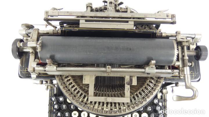 Antigüedades: Máquina de escribir FRISTER & ROSSMANN AÑO 1904 Typewriter Schreibmaschine A Ecrire - Foto 8 - 288549438