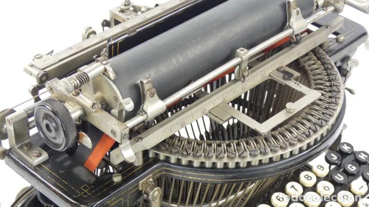 Antigüedades: Máquina de escribir FRISTER & ROSSMANN AÑO 1904 Typewriter Schreibmaschine A Ecrire - Foto 13 - 288549438