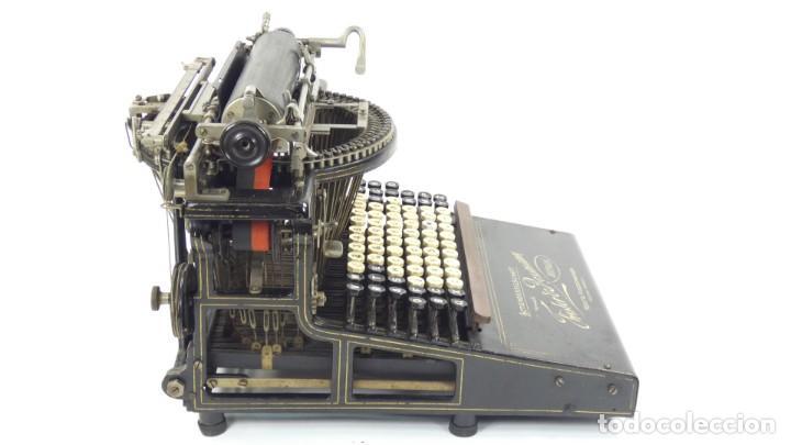 Antigüedades: Máquina de escribir FRISTER & ROSSMANN AÑO 1904 Typewriter Schreibmaschine A Ecrire - Foto 15 - 288549438