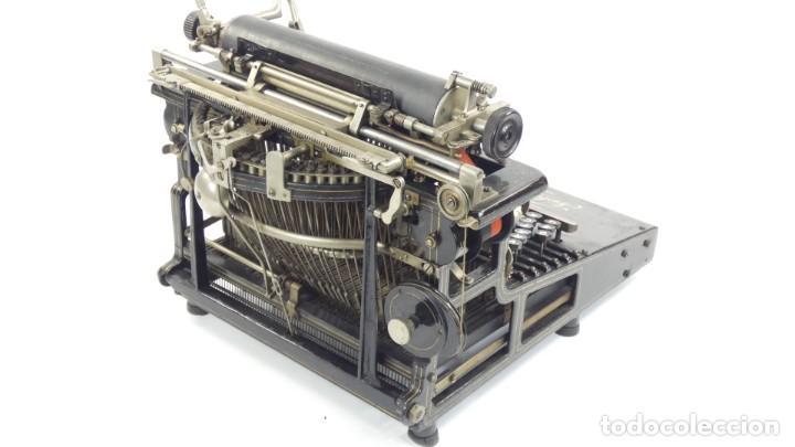 Antigüedades: Máquina de escribir FRISTER & ROSSMANN AÑO 1904 Typewriter Schreibmaschine A Ecrire - Foto 16 - 288549438