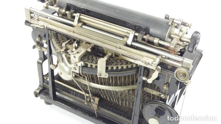 Antigüedades: Máquina de escribir FRISTER & ROSSMANN AÑO 1904 Typewriter Schreibmaschine A Ecrire - Foto 17 - 288549438