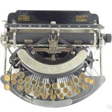 Antigüedades: MÁQUINA DE ESCRIBIR LLOYD IV AÑO 1915 TYPEWRITER SCHREIBMASCHINE A ECRIRE. Lote 288566438
