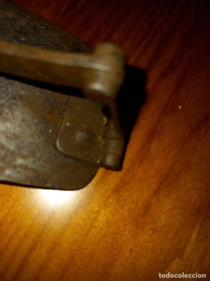Antigüedades: CEPILLO CARPINTERO DE HIERRO Y FORJA PRINCIPIO SIGLO 19 PIEZA RARA, DE MUSEO ,ACEPTO OFERTAS - Foto 11 - 288568128