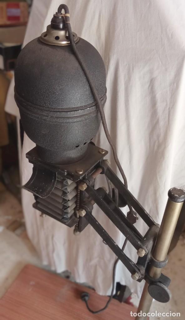 Antigüedades: Ampliadora para fotografia marca CARRANZA completa , ver fotos - Foto 4 - 288700828