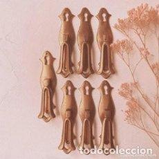 Antigüedades: BONITOS TIRADORES ANTIGUOS DE BRONCE MACIZO (PRECIO 1 UNIDAD) ANTIQUE UNIQUE. Lote 288863973