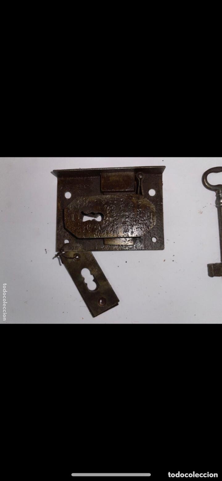 Antigüedades: CERRADURA COMPLETA SIGLO XVIII - Foto 4 - 288864873