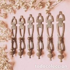 Antigüedades: TIRADORES ANTIGUOS MODERNISTAS (PRECIO 1 UNIDAD) ANTIQUE UNIQUE. Lote 288867533