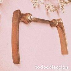 Antigüedades: TIRADORES ANTIGUOS DE BRONCE (PRECIO 1 UNIDAD) ANTIQUE UNIQUE. Lote 288878693