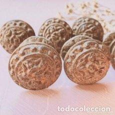 Antigüedades: ANTIGUOS TIRADORES POMOS MODERNISTAS (PRECIO 1 UNIDAD) ANTIQUE UNIQUE. Lote 288882983